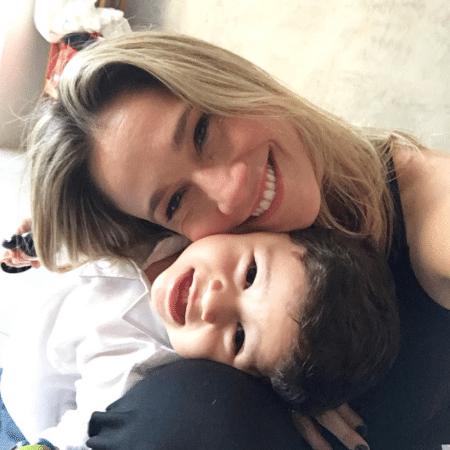 Fernanda Gentil e o filho, Gabriel - Reprodução/Instagram/gentilfernanda