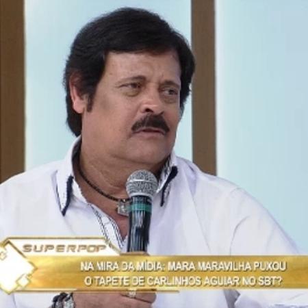 """Carlinhos Aguiar no """"Superpop"""" - Reprodução/RedeTV!"""