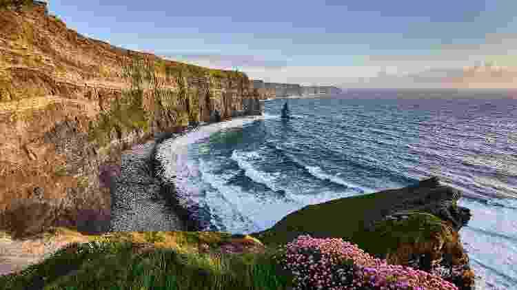 As falésias de Moher, na Irlanda - iStock