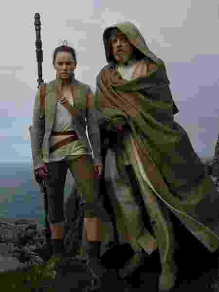 """Mark Hamill em """"Star Wars: Os Últimos Jedi"""" - Divulgação"""