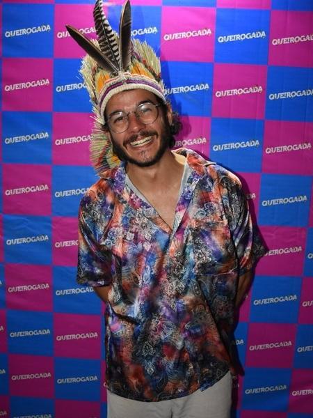 Túlio Gadelha curte pré-carnaval sem Fátima Bernardes  - Famosos festejam pré-carnaval