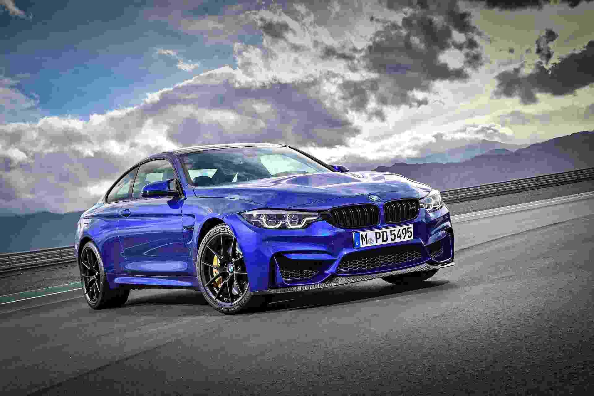 BMW M4 Coupé CS - Divulgação