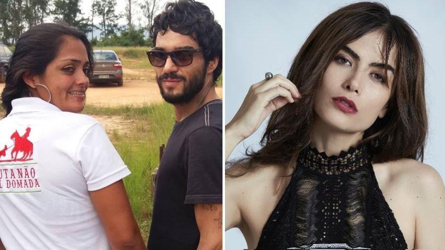 Caio Blat foi criticado por Maria Casadevall - Reprodução/Instagram//Divulgação