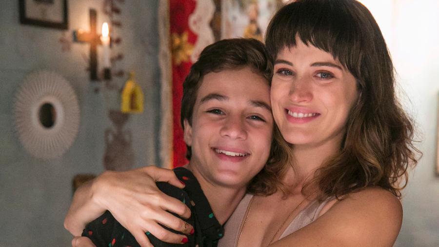 Tomaz (Vitor Figueiredo) e Clara (Bianca Bin) - Rafael Campos/Globo
