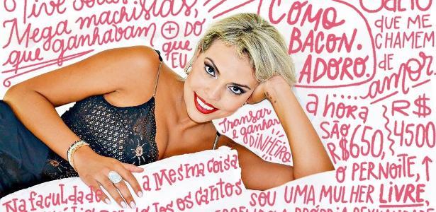 A ex- advogada e prostituta Cláudia de Marchi