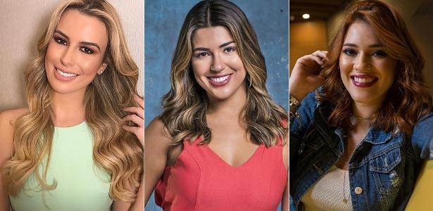 """Fernanda Keulla e Vivian Amorim, novas apresentadoras do """"Vídeo Show"""", e Ana Clara Lima, nova repórter do programa"""