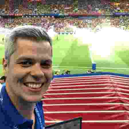 Bernardo Ramos é comentarista do Band Sports: convidado pelo SBT para fazer a Libertadores - Reprodução