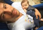 """José Loreto mostra soneca de Bella em seus braços: """"pode parar o tempo?"""" - Reprodução/Instagram"""