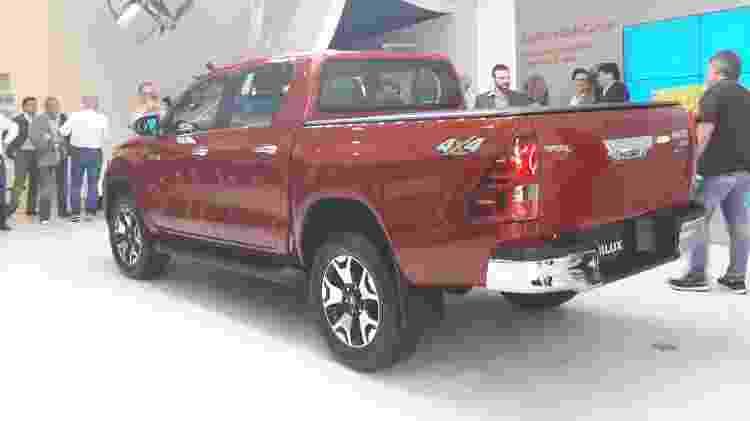Toyota Hilux 2019 2 - Vitor Matsubara/UOL - Vitor Matsubara/UOL