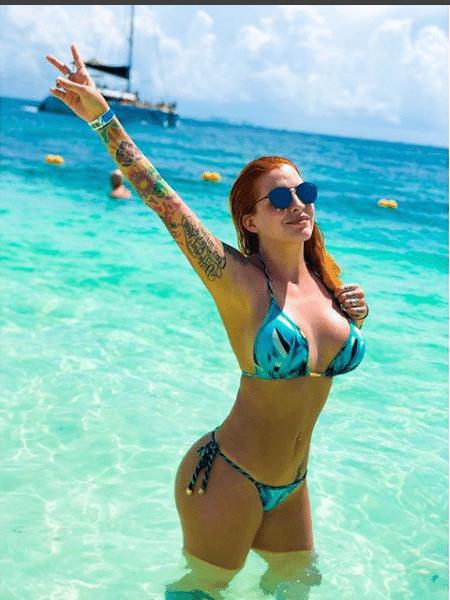 Clara Aguilar em Cancún - Reprodução/Instagram
