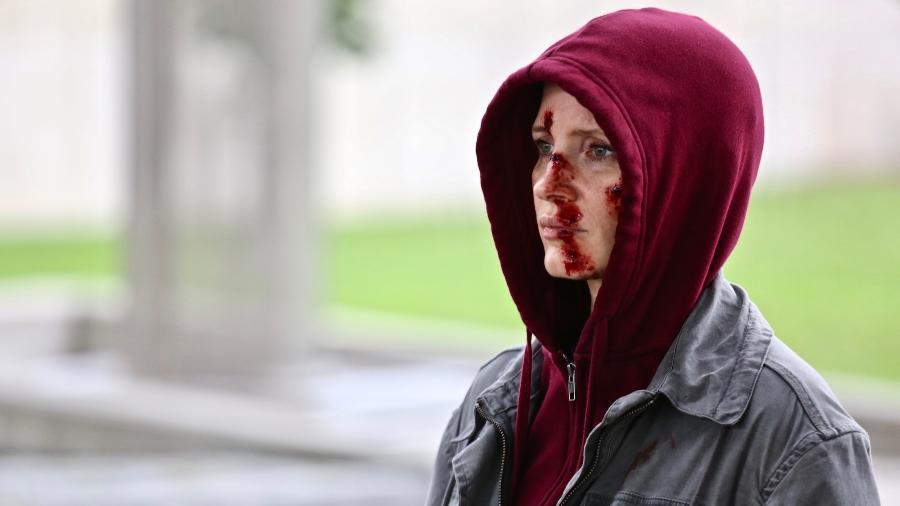 """Jessica Chastain em cena de """"Eve"""" - Reprodução"""