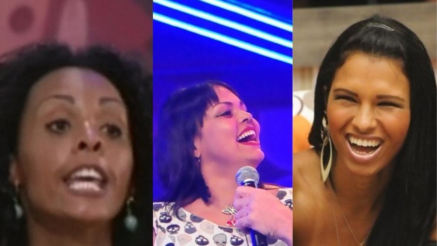 """Aline, Analice e Ariadna foram as primeiras eliminadas em suas edições do """"BBB"""" - Reprodução/Colagem"""