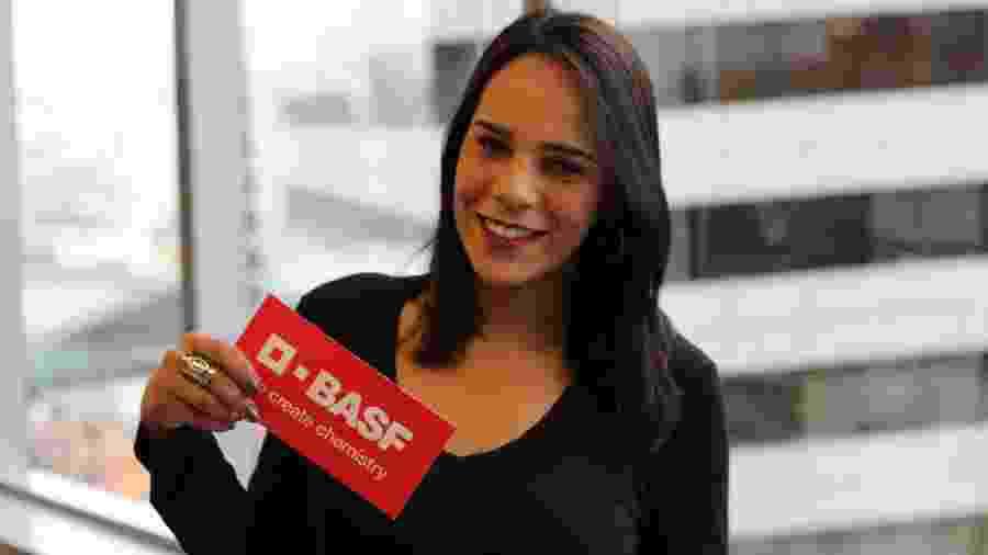 Amanda Matricardi dos Santos, 23 anos, customer care na empresa BASF South America - Acervo pessoal