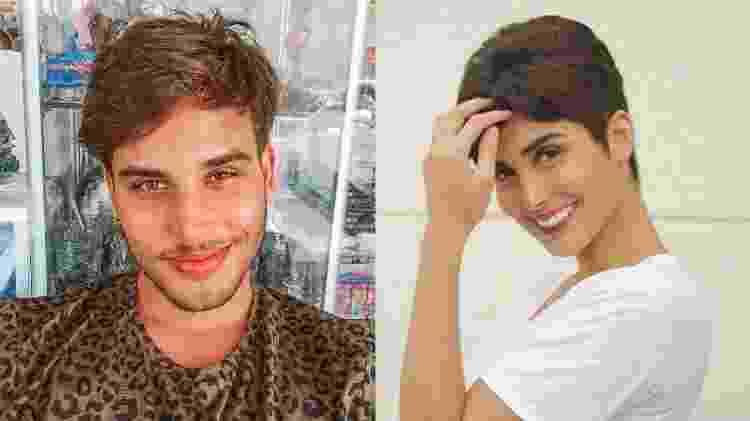 Jonathan Couto e Leticia Almeida - Reprodução/Instagram