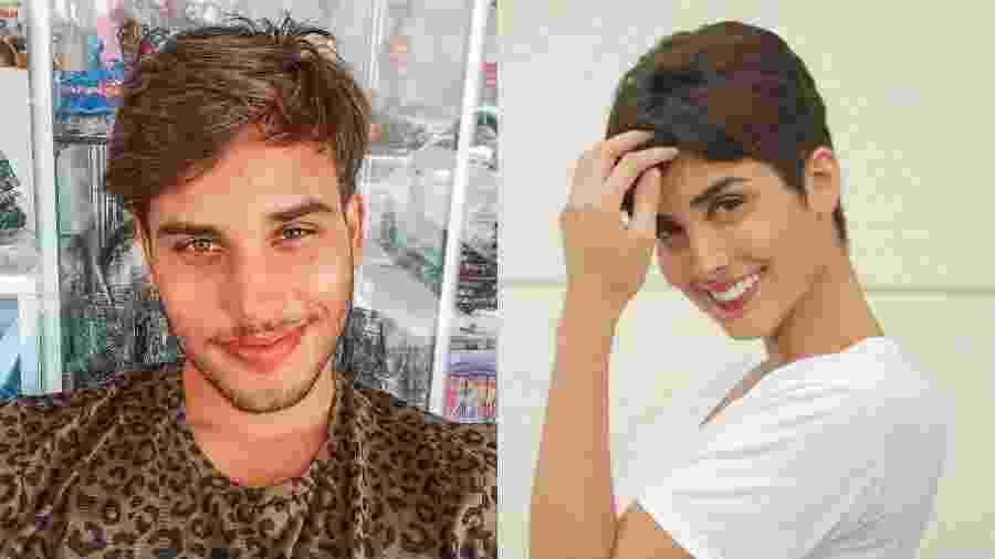 Jonathan Couto e Letícia Almeida - Reprodução/Instagram