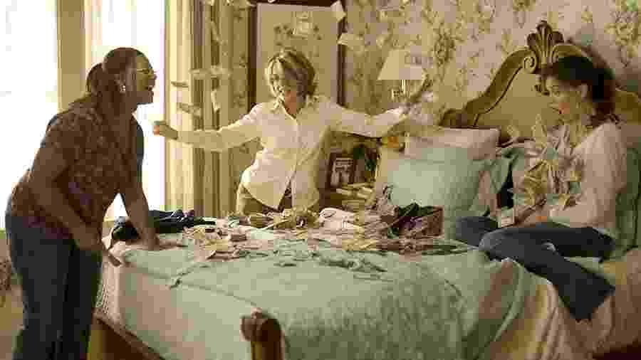 """Cena do filme """"Loucas por Amor, Viciadas em Dinheiro"""", de 2008 - Divulgação"""