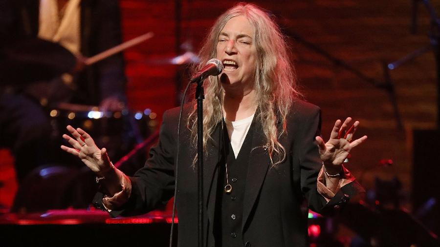 Patti Smith se apresenta em Nova York, abril de 2019 - Getty Images