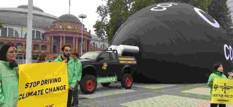 """Greenpeace diz que indústria """"ainda não entendeu"""" crise climática - Ricardo Ribeiro/Colaboração para o UOL"""