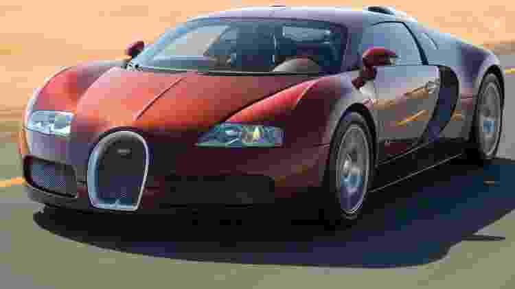 Bugatti Veyron - Divulgação - Divulgação
