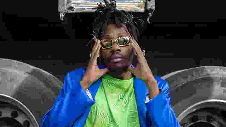 O rapper Rincón Sapiência - Divulgação