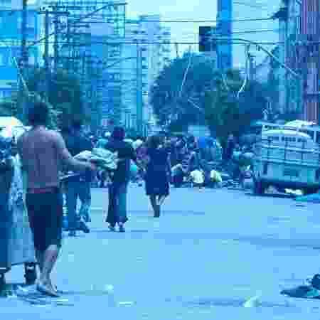 Situação de rua e consumo de drogas, condições que coexistem na cracolândia paulistana, estão associadas à mortalidade pós-tuberculose - Léo Ramos Chaves