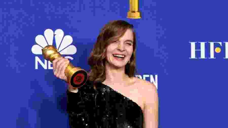 Hildur Guðnadóttir venceu Globo de Ouro pela trilha sonora de Coringa - Paul Drinkwater/NBCUniversal Media, LLC via Getty Images