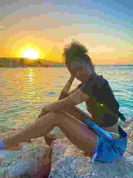Iza na Jamaica - REPRODUÇÃO/INSTAGRAM