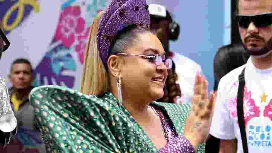 Preta Gil encerra o Carnaval de São Paulo - Gabriela Burdmann/UOL
