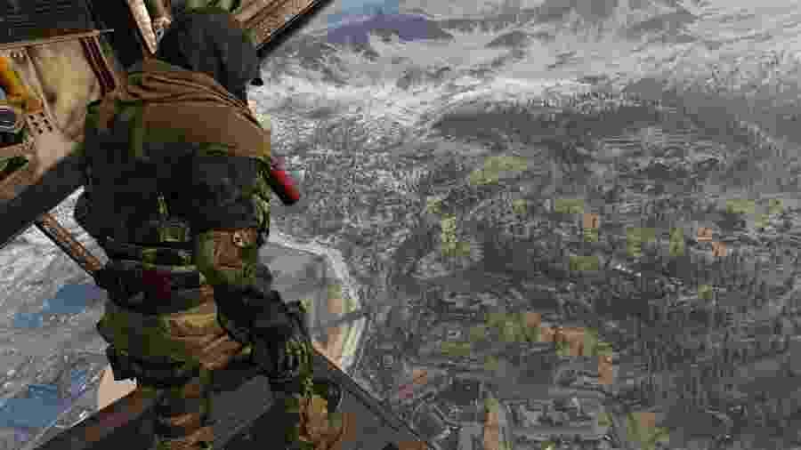 Call of Duty: Warzone segue o modelo padrão de Battle Royale, mas tem seus próprios segredos - Divulgação