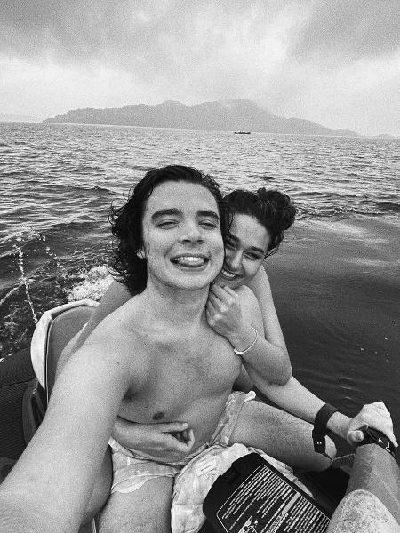 Sasha aparece em passeio de jet ski com João Figueiredo - Reprodução/Instagram