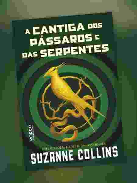 """A capa nacional de """"A Cantiga dos Pássaros e das Serpentes"""", novo volume da saga """"Jogos Vorazes"""" - Reprodução/Facebook"""