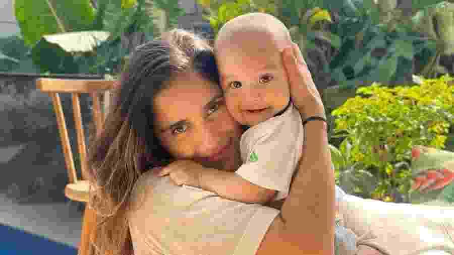 Camilla Camargo com o filho, Joaquim - Reprodução/Instagram