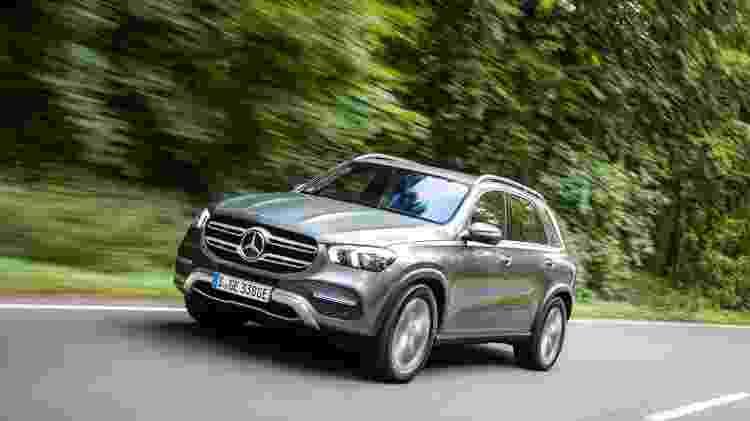 Mercedes-Benz GLE 400d - Divulgação - Divulgação