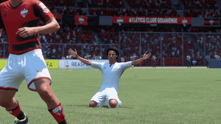 FIFA 21 Adilson Edrada Santos - Reprodução/START - Reprodução/START