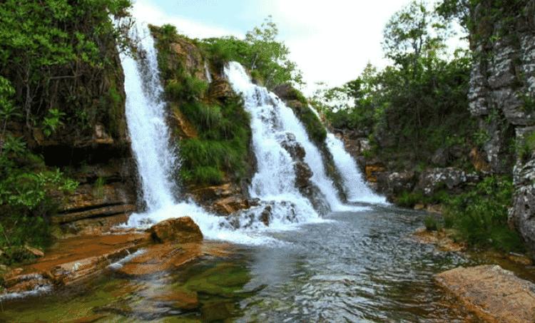 Cachoeira do Rio da Prata - Elder Miranda Jr./AQK - Elder Miranda Jr./AQK
