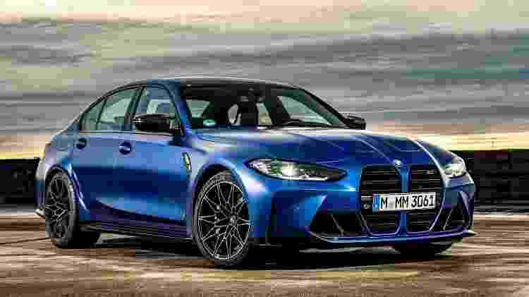 BMW M3 2021 - Divulgação - Divulgação
