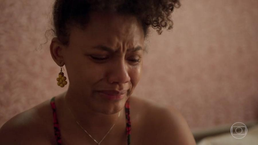 Camila (Jéssica Ellen) descobriu hoje que sua sogra, Thelma, tentou matá-la - Reprodução/TV Globo