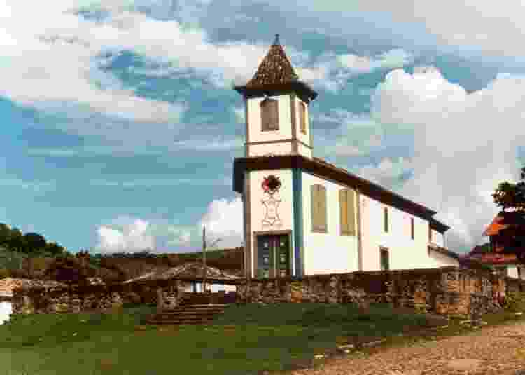 Igreja Matriz de Nossa Senhora Aparecida - Divulgação/Iepha MG - Divulgação/Iepha MG