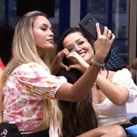 """Sarah evita falar de Juliette, do """"BBB 21"""" - Reprodução/Globoplay"""