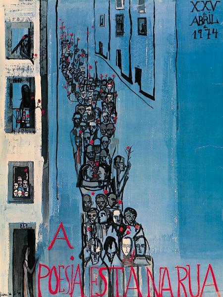 """Cartas """"A poesia está na rua"""" de Maria Helena Vieira da Silva - Reprodução"""