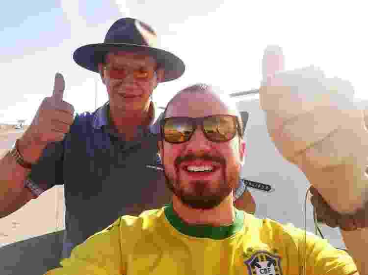 Guilherme caroneiro - Uma - Arquivo pessoal - Arquivo pessoal