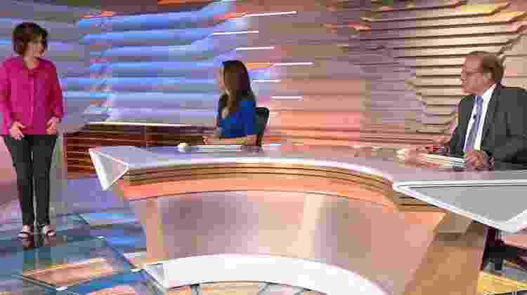 Miriam Leitão - Reprodução/TV Globo - Reprodução/TV Globo