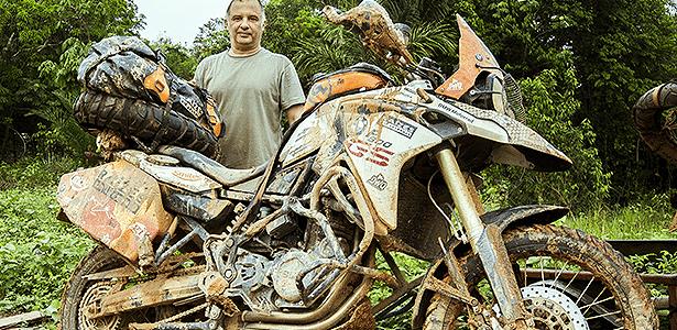 Marcelo Leite, viajante de moto - Arquivo pessoal - Arquivo pessoal