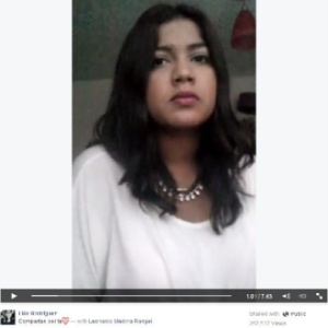 Lilia pede a todos que tenham cuidado ao compartilhar informações nas redes sociais - Reprodução
