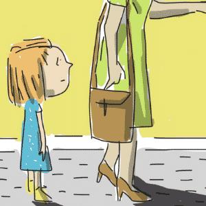VOCÊ SABE QUE EU VOU EMBORA SE CONTINUAR FAZENDO ISSO, NÃO É? | Usar algum tipo de chantagem ou ameaça para conseguir obediência dos filhos --por exemplo, ameaçar ir embora, dizer que vai chamar a polícia ou que o monstro vai pegar-- é uma prática comum entre alguns pais - Jeff/UOL
