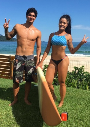 Aline Riscado entrevista surfista Gabriel Medina em novo quadro - Divulgação