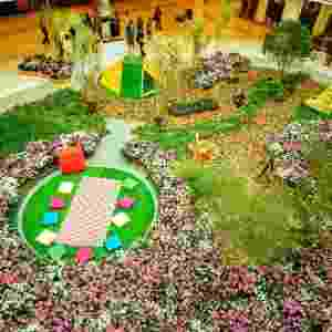 Jardim Gigante do Shopping Granja Vianna - Divulgação