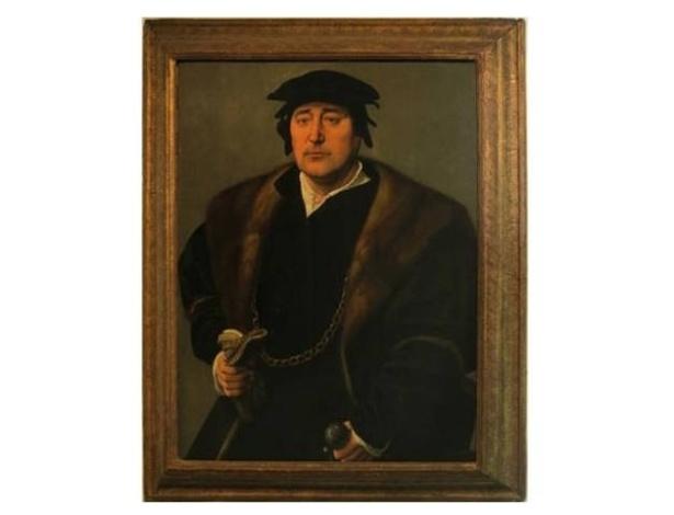 """Quadro """"Retrato de um Homem"""", roubado por nazistas e restituído a família judia - Reprodução"""