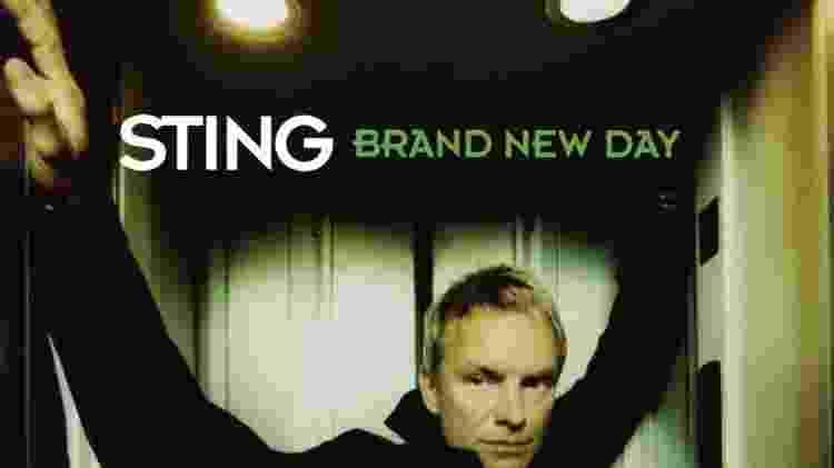 """Capa do álbum """"Brand New Day"""", de Sting - Reprodução - Reprodução"""