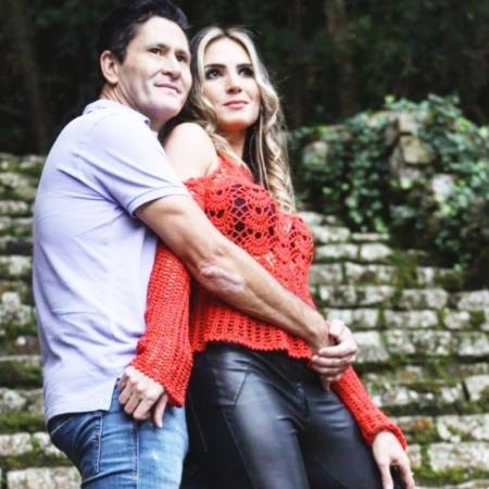 Gian com sua nova namorada, a estilista Bárbara Brum - Reprodução/Instagram/barbarabrumm